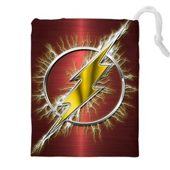 Flash Flashy Logo Drawstring Pouches (xxl)