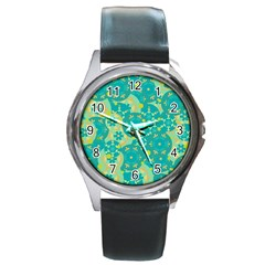 Cyan design Round Metal Watch
