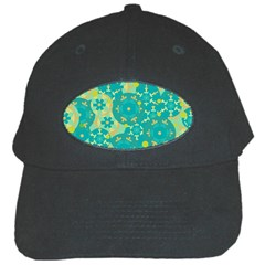 Cyan design Black Cap
