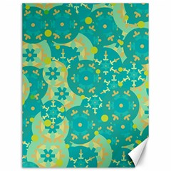 Cyan design Canvas 12  x 16