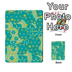 Cyan design Multi-purpose Cards (Rectangle)