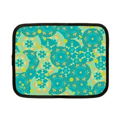 Cyan design Netbook Case (Small)