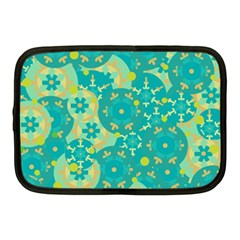 Cyan design Netbook Case (Medium)