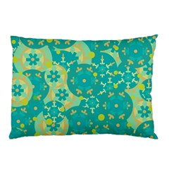 Cyan design Pillow Case