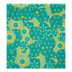Cyan design Shower Curtain 66  x 72  (Large)