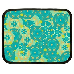 Cyan design Netbook Case (XXL)