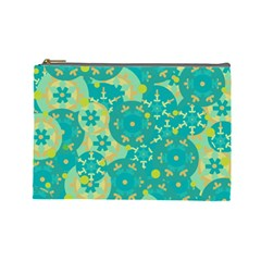 Cyan design Cosmetic Bag (Large)