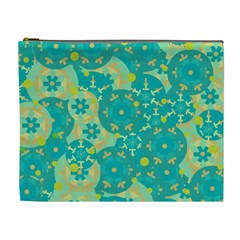 Cyan design Cosmetic Bag (XL)