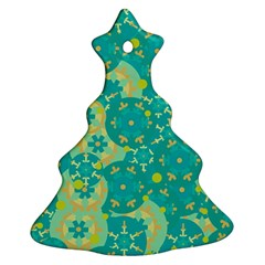 Cyan design Ornament (Christmas Tree)