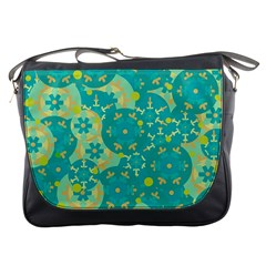 Cyan design Messenger Bags