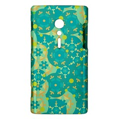 Cyan design Sony Xperia ion