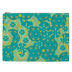 Cyan design Cosmetic Bag (XXL)