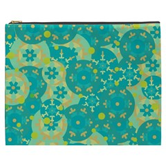 Cyan design Cosmetic Bag (XXXL)