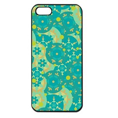 Cyan design Apple iPhone 5 Seamless Case (Black)