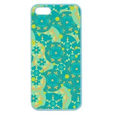 Cyan design Apple Seamless iPhone 5 Case (Color)