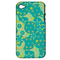 Cyan design Apple iPhone 4/4S Hardshell Case (PC+Silicone)