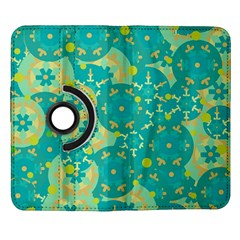 Cyan design Samsung Galaxy Note II Flip 360 Case