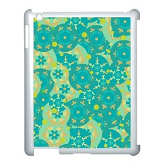 Cyan design Apple iPad 3/4 Case (White)