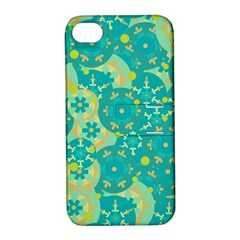 Cyan design Apple iPhone 4/4S Hardshell Case with Stand