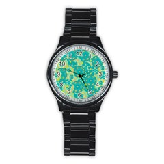 Cyan design Stainless Steel Round Watch