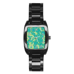 Cyan design Stainless Steel Barrel Watch