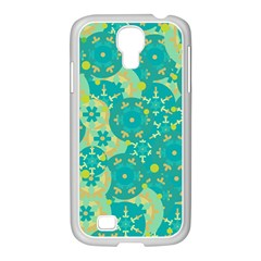 Cyan design Samsung GALAXY S4 I9500/ I9505 Case (White)
