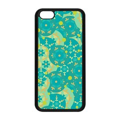 Cyan design Apple iPhone 5C Seamless Case (Black)