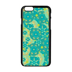 Cyan design Apple iPhone 6/6S Black Enamel Case