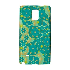 Cyan design Samsung Galaxy Note 4 Hardshell Case