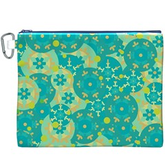 Cyan design Canvas Cosmetic Bag (XXXL)