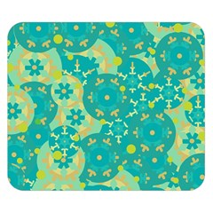 Cyan design Double Sided Flano Blanket (Small)