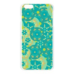 Cyan design Apple Seamless iPhone 6 Plus/6S Plus Case (Transparent)