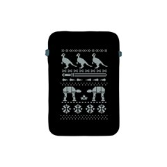 Holiday Party Attire Ugly Christmas Black Background Apple iPad Mini Protective Soft Cases