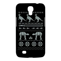 Holiday Party Attire Ugly Christmas Black Background Samsung Galaxy Mega 6 3  I9200 Hardshell Case