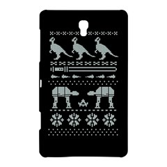 Holiday Party Attire Ugly Christmas Black Background Samsung Galaxy Tab S (8.4 ) Hardshell Case