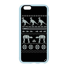 Holiday Party Attire Ugly Christmas Black Background Apple Seamless iPhone 6/6S Case (Color)