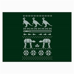 Holiday Party Attire Ugly Christmas Green Background Collage Prints
