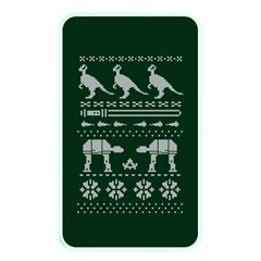 Holiday Party Attire Ugly Christmas Green Background Memory Card Reader