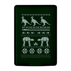 Holiday Party Attire Ugly Christmas Green Background Kindle 4