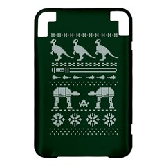 Holiday Party Attire Ugly Christmas Green Background Kindle 3 Keyboard 3G