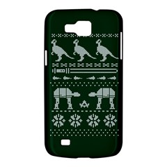 Holiday Party Attire Ugly Christmas Green Background Samsung Galaxy Premier I9260 Hardshell Case