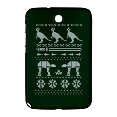 Holiday Party Attire Ugly Christmas Green Background Samsung Galaxy Note 8.0 N5100 Hardshell Case