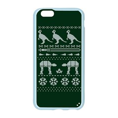Holiday Party Attire Ugly Christmas Green Background Apple Seamless iPhone 6/6S Case (Color)