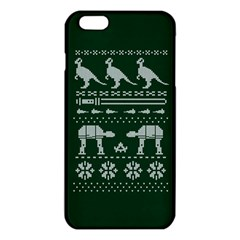 Holiday Party Attire Ugly Christmas Green Background Iphone 6 Plus/6s Plus Tpu Case