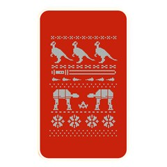Holiday Party Attire Ugly Christmas Red Background Memory Card Reader