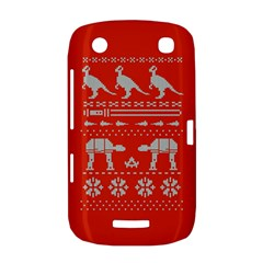 Holiday Party Attire Ugly Christmas Red Background BlackBerry Curve 9380
