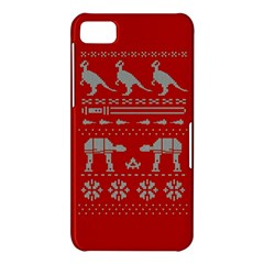 Holiday Party Attire Ugly Christmas Red Background BlackBerry Z10