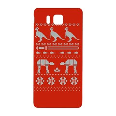 Holiday Party Attire Ugly Christmas Red Background Samsung Galaxy Alpha Hardshell Back Case