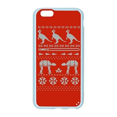 Holiday Party Attire Ugly Christmas Red Background Apple Seamless iPhone 6/6S Case (Color)