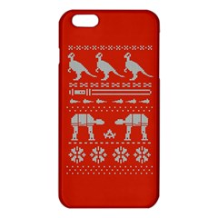 Holiday Party Attire Ugly Christmas Red Background iPhone 6 Plus/6S Plus TPU Case